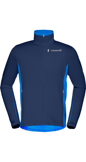 Norrøna Bitihorn Warm1 Stretch Jas Heren blauw